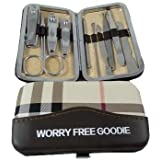 10 In 1 Premium Quality Nail Manicure Set,Nail Manicure Kit,Nail Manicure Tools,Nail Cleaning Set,Nail Cleaning...