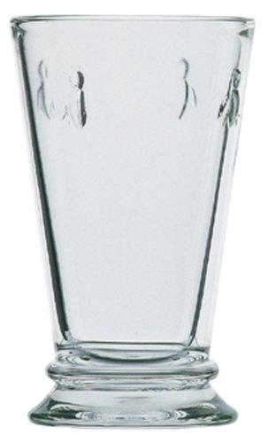La Rochère Set of 6 Bee Décor Glasses, Clear