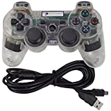 Digital Gaming World PS3 Wireless Controller For Sony Play Station 3 Console (Transparent Special Limited Edition...