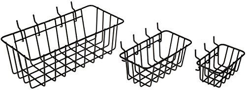 Dorman Peggable Wire Basket (Set of 3)