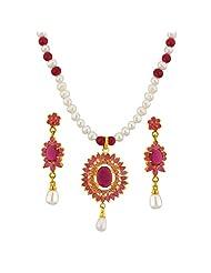 Jpearls Majestic Necklace Set