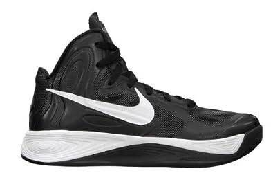 Womens Nike Hyperfuse TB Basketball Shoe Black/White