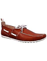 Aureno Men's Synthetic Sneakers - B011BGVGF4