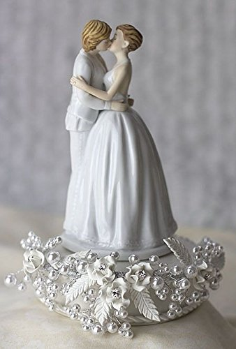 gay wedding cakes and cake toppers for a wedding 4458