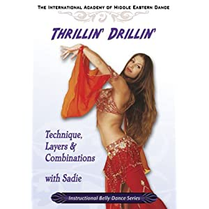 Thrillin' Drillin' with Sadie Bellydance DVD