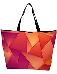 Snoogg Abstract Dark Pattern Design Designer Waterproof Bag Made Of High Strength Nylon