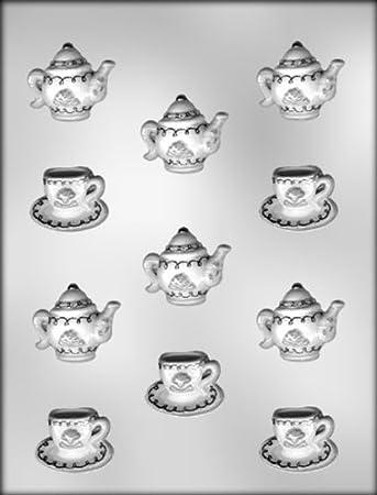 Cup, Saucer & Teapot Chocolate Mold