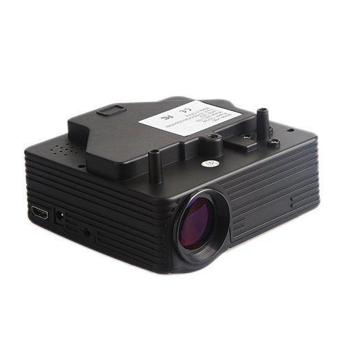 Lightinthebox?Mini HD Home LED Home Theater Projectors 640x480 With VGA USB SD HDMI Input Black