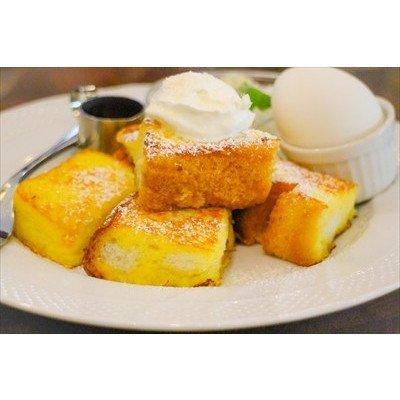 【食の風景ポストカードAIR】フレンチトーストの葉書ハガキはがき photo by MIRO