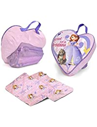Disney Sofia The First Slumber Bag With Pillow On The Go
