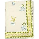 Cocobee Baby Quilt In Handblocked Prints - B01H3R4SZU