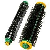 Bristle Brush + Flexible Beater Brush For Irobot Roomba 500 Series 550 560 570