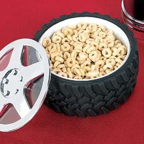 Tire Bowl for NASCAR / race car theme party