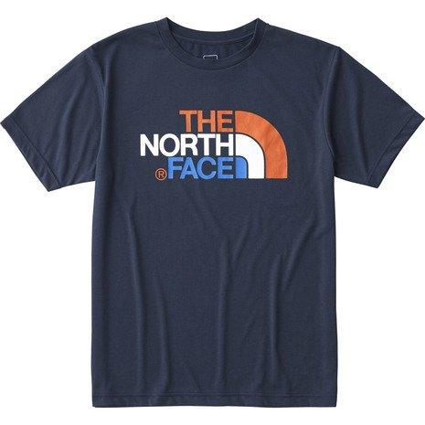 ノースフェイス(ノースフェイス) ショートスリーブカラフルロゴティー メンズ S/S Colorful Logo Tee NT31621 CM コズミックブルー (Men's)