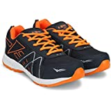 Exotic Navy Blue & Orange Sports Shoes For Men (Running Shoes, Gym Shoes, Athletic Training Shoes)
