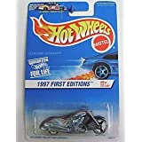 Hot Wheels 1997 First Editions - 1:64 Die-Cast Scorchin Scooter (#9 Of 12 Cars) - Collector #519