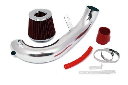 01 02 03 04 05 Honda Civic 1.7L Short Ram Intake Red (Included Air Filter) #SR-HD5R