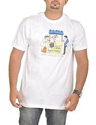 Stallion Cottons Men's Round Neck Cotton T-Shirt - B00ZIHOJ0W