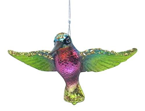 Glass Ornament Hummingbird