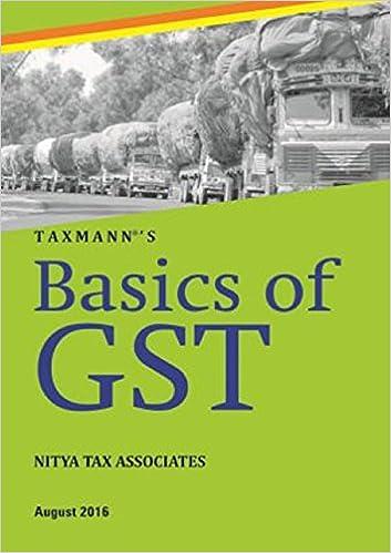 Basics of GST (August 2016)