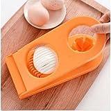 Multifunctional Kitchen 2 In 1 Egg Slicers Sectioner Cutter Mold Flower Edges Chopper Kitchen Tools