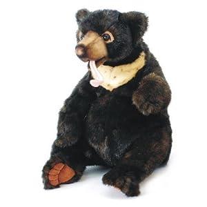 Amazon.com: Hansa Sun Bear, Sitting Stuffed Plush Animal