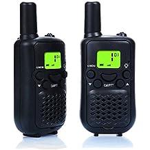 Petcaree Walkie Talkies, Wireless Interphone 22 Channel FRS/GMRS 2 Way Radio 2 Miles (up To 3 Miles) UHF Handheld...