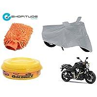 ESHOPITUDE-Bike & Car Cleaning & Utility Combo Set Of 3-Yamaha MT01