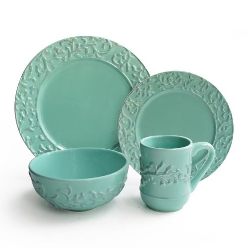 Gordon Ramsay Maze · Waverly Savoy ...  sc 1 st  Simply Beautiful Kitchens & Teal Colored Dinnerware Sets
