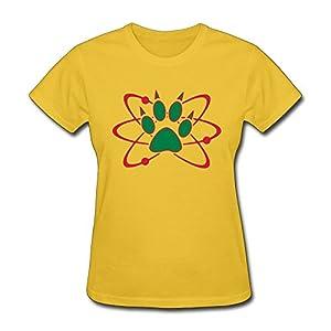 PTHF Ladies Atom Bear Paw T-Shirt XL Gold