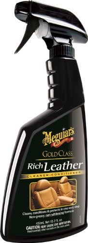 Meguiar's G10916 Gold Class Rich Leather Cleaner & Conditioner – 15.2 oz.