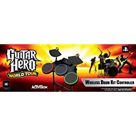 PS2 Guitar Hero World Tour - Stand Alone Drums