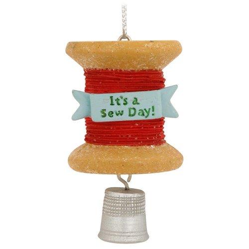 Sewing Thread Spool Christmas Ornament