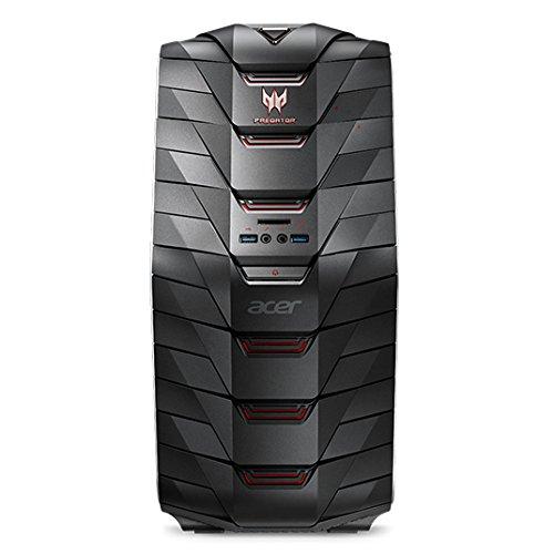 Acer Predator G6-710 4GHz i7-6700K Escritorio Negro, Gris - Ordenador de sobremesa (i7-6700K, Escritorio, 64 bits, HDD+SSD, Intel Core i7-6xxx, DVD±RW)
