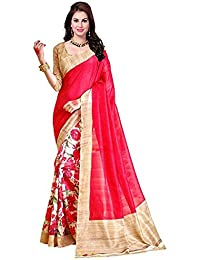 Sarees (Women's Clothing Saree For Women Latest Design Wear Sarees Collection In Mult-Coloured Art Silk Material...