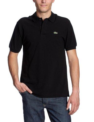 Lacoste L1212-00 - Camiseta deportiva de manga corta para hombre, color negro 031, talla 54 (T6)