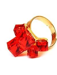 Valentine Gifts For Girl Friend Chooz Designer Studio Jacqueline Fernandes/Deepika Padukone Style Crystal Red...