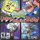 THQ SpongeBob Squarepants - Lights, Camera, Pants! Kid Games for Windows for 13 and Up