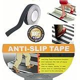 Black L5M W25mm Anti Slip Anti-slip Tape Non Skid Nonskid Tape Adhesive PVC Tap