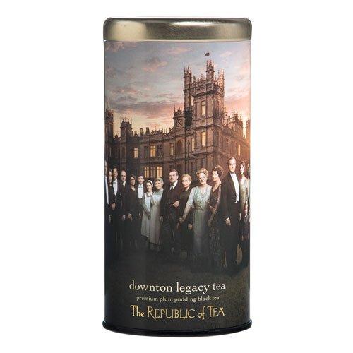 Downton Abbey, Downton Legacy Plum Pudding Black Tea, 36 Tea Bags