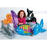 UNDER THE SEA INFLATABLES: WHALE, DOLPHIN, OCTOPUS, SHARK, RAINBOW FISH, AND SEA HORSE!