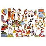20 Nursery Rhymes Felt Figures For Flannel Board +Rhymes & Coloring Pages -Once Upon A Rhyme