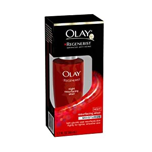 Olay Regenerist Advanced Anti Aging Moisturize Night Resurfacing Elixir