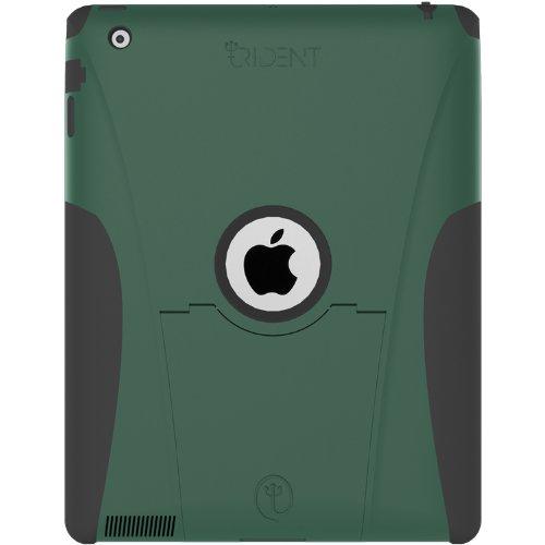 高耐衝撃性+防塵機能iPad+2+ケースTrident+Aegis+シリーズ(グリーン)