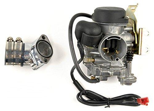 24mm Performance Carburetor and Intake 150cc GY6