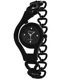RODEC Glory Black Chain Womens Analog Watch For Girls,womens