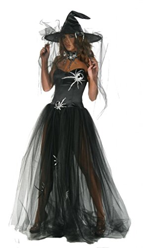 Sexy Witch Spider Gown Costume