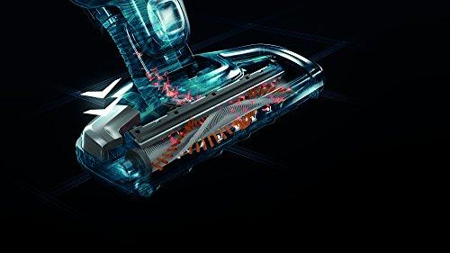 AEG ECO Ergorapido / CX7-30IW kabelloser 2in1 Staubsauger (beutellos, 30 Min. Laufzeit, Lithium-Power-Akku, patentierte Selbstreinigung der Bürstenrolle, Elektrobürste, 4 LED-Frontlichter) weiß