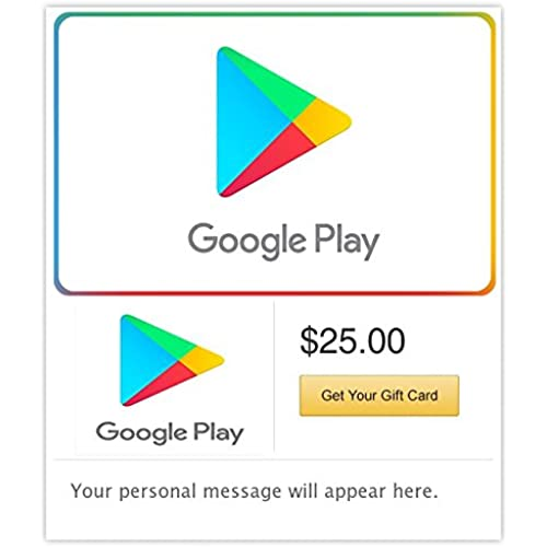 Google Play Gift Code - E-mail Delivery