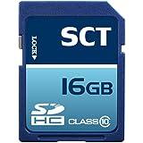 Professional SCT SD SDHC 16GB 16 Gigabyte Class 10 Memory Card For Canon EOS 1100D 600D 550D 60D 1D IV SX210 SX130...